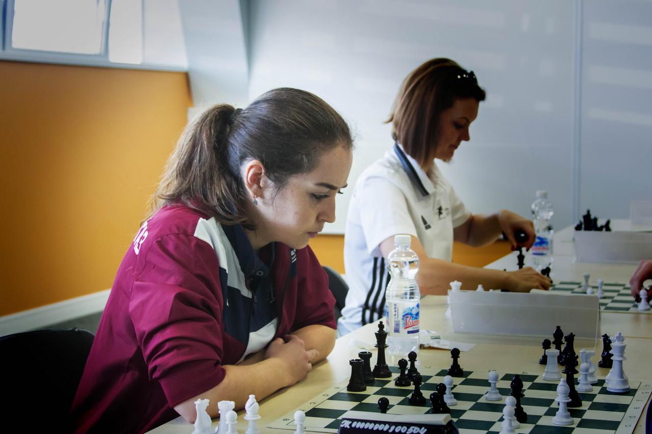 Любовь к шахматам