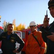 20 сентября сотрудники МСЧ провели показательные учения